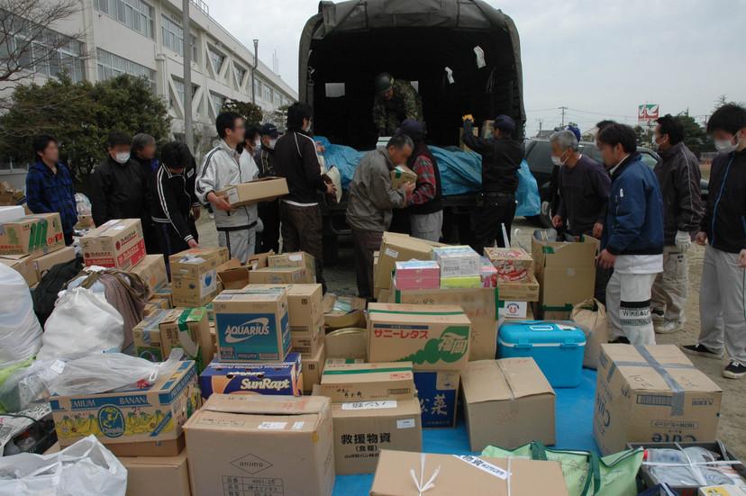 詳細表示(支援物資を積み込み、二次避難所へ) 50510000000061